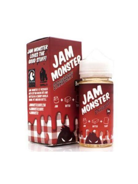 Жидкость Jam Monster Strawberry