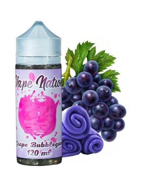 Жидкость Vape Nation Grape Bubblegum