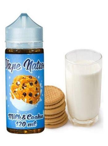 Купить жидкость Vape Nation Milk & Cookie