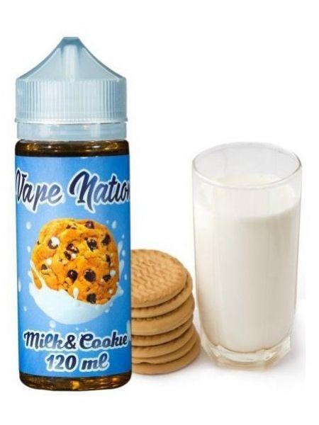 Жидкость Vape Nation Milk & Cookie