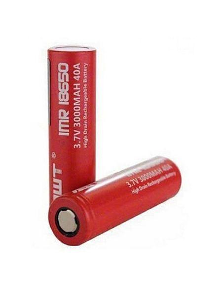 Аккумулятор AWT IMR 18650 3000 мА/ч 40A