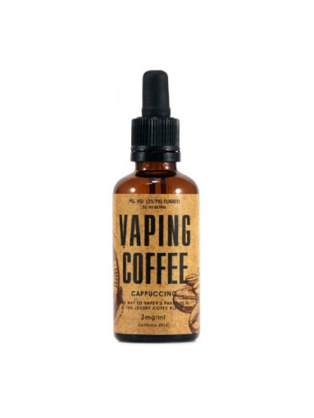 Vaping Coffee Cappuccino